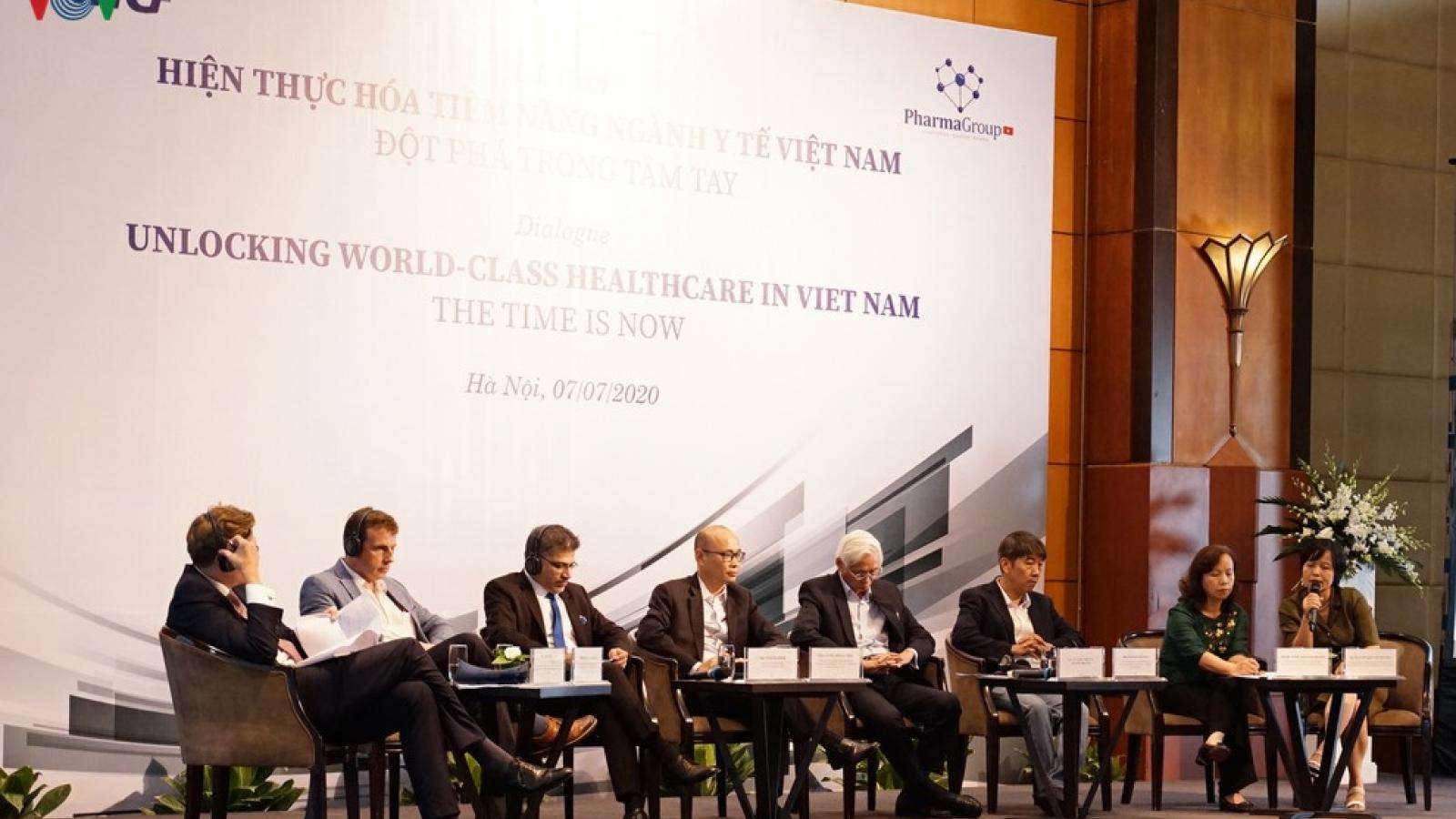 Tiềm năng y tế Việt Nam trong mắt giới chuyên gia nước ngoài