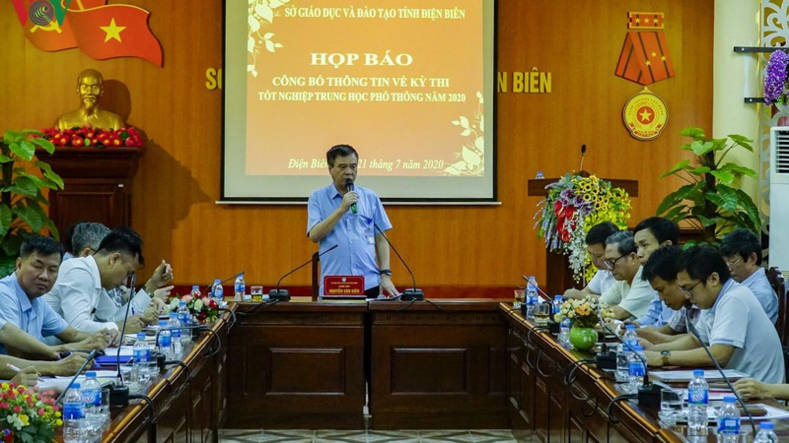 Sơn La, Điện Biên chú trọng an ninh cho kỳ thi tốt nghiệp THPT 2020