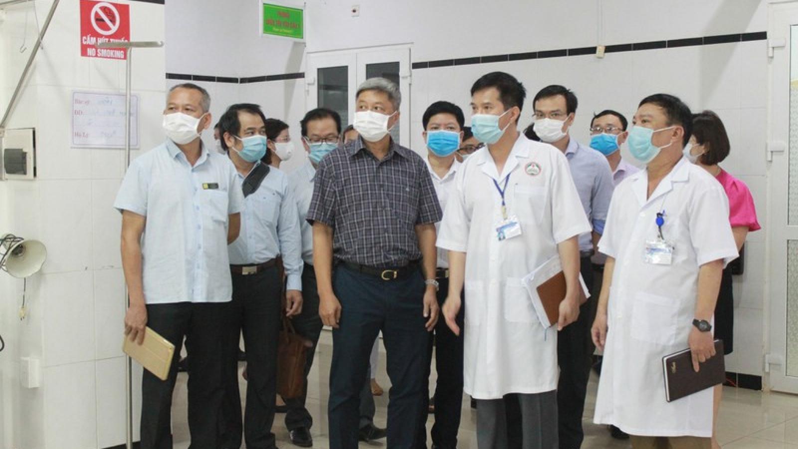 Bộ Y tế nhấn mạnh vai trò của BVĐK vùng Tây Nguyên trong chống dịch