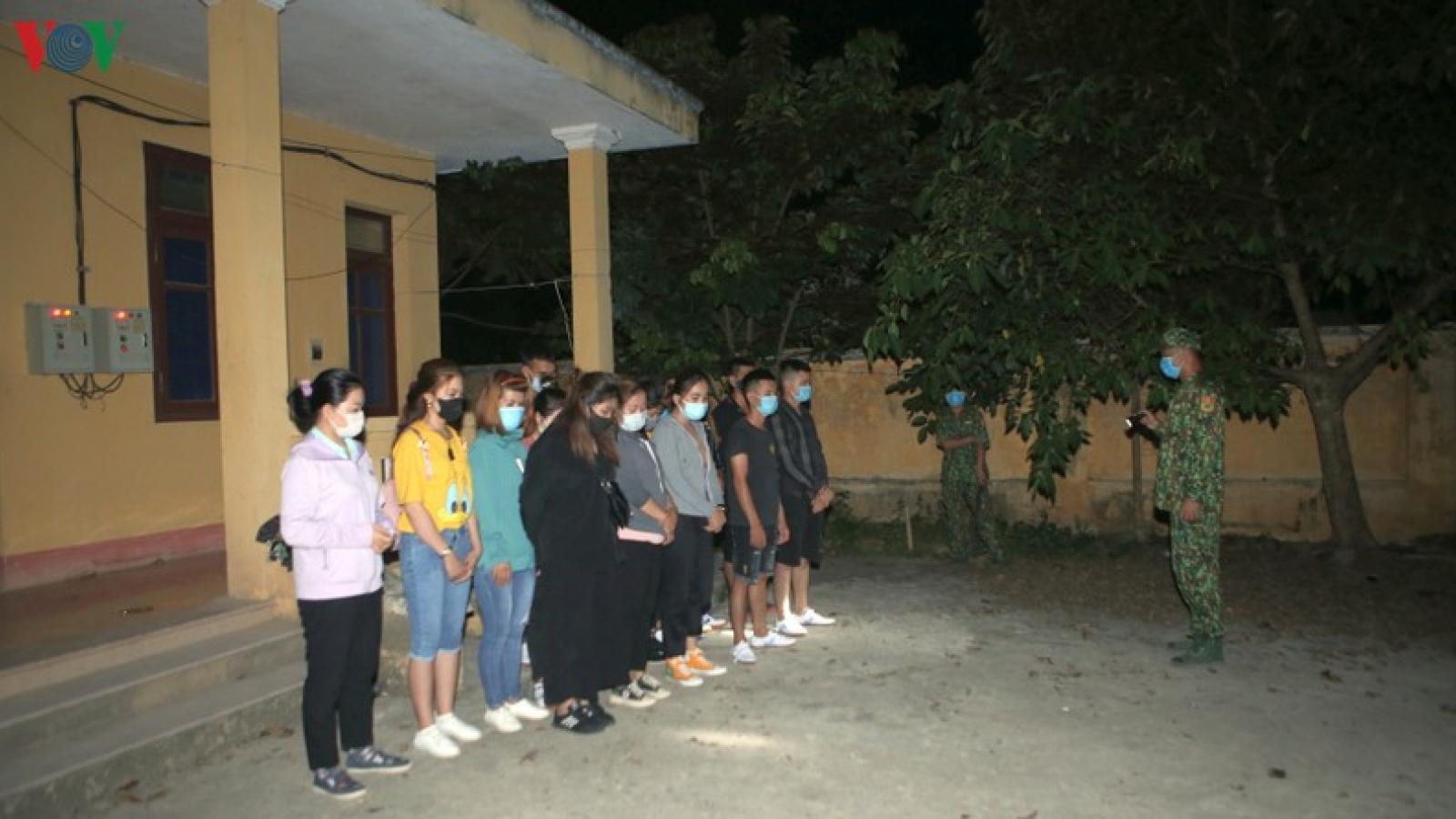Biên phòng Cao Bằng ngăn chặn 15 người xuất cảnh trái phép trong đêm