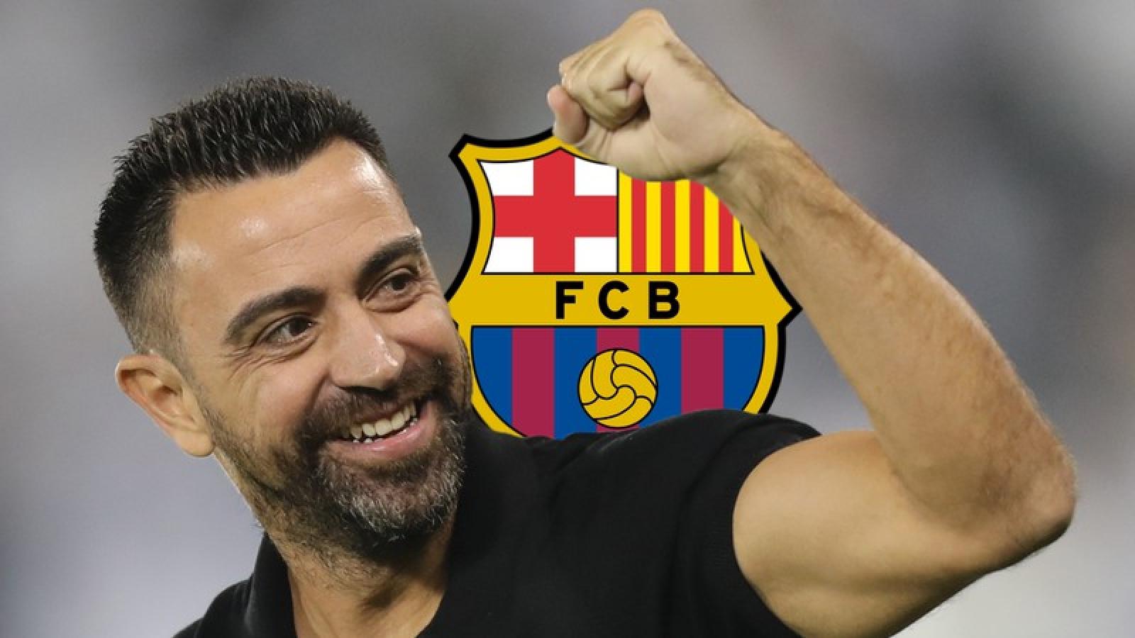 Xavi khó lòng dẫn dắt Barca ngay mùa tới