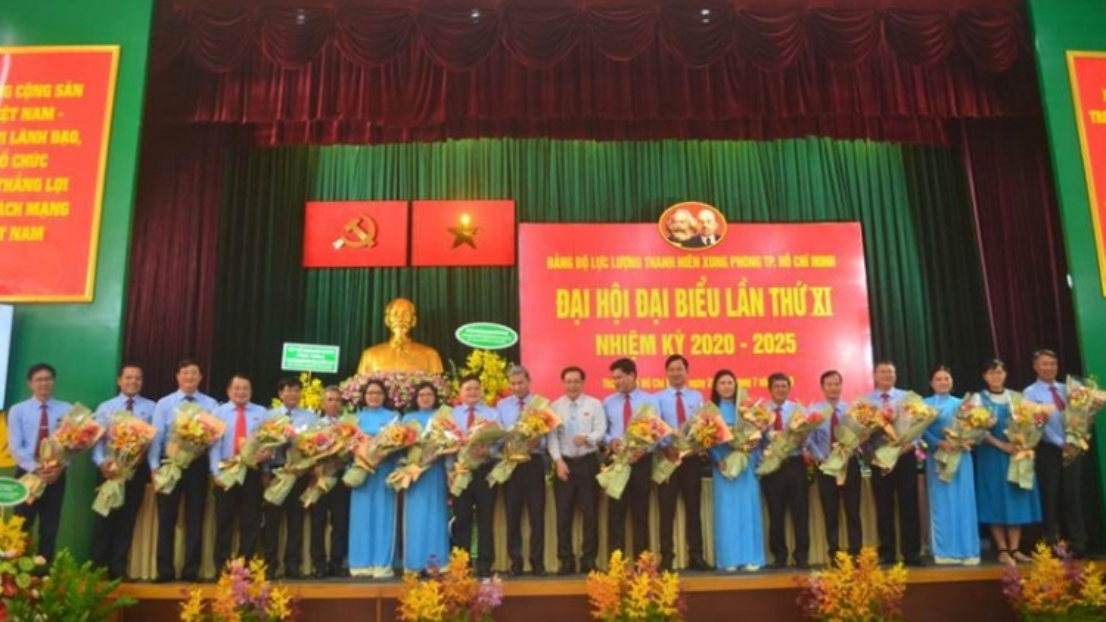 Ông Lê Minh Khoa tái đắc cử Bí thư Đảng bộ Lực lượng TNXP TPHCM