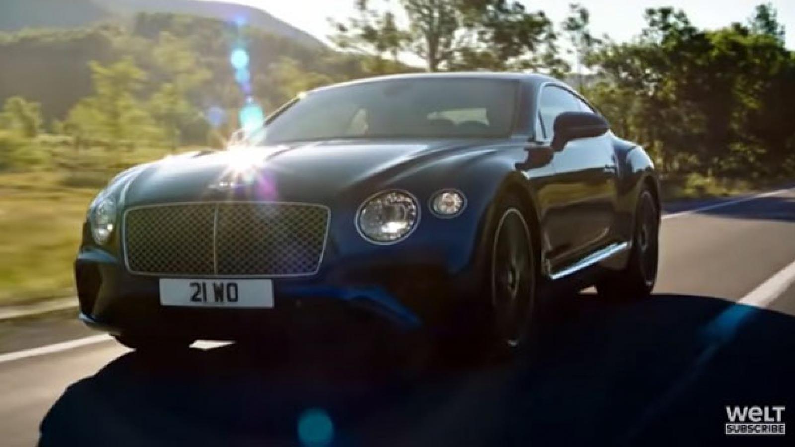Video: Khám phá nhà máy lắp ráp Bentley Continental GT