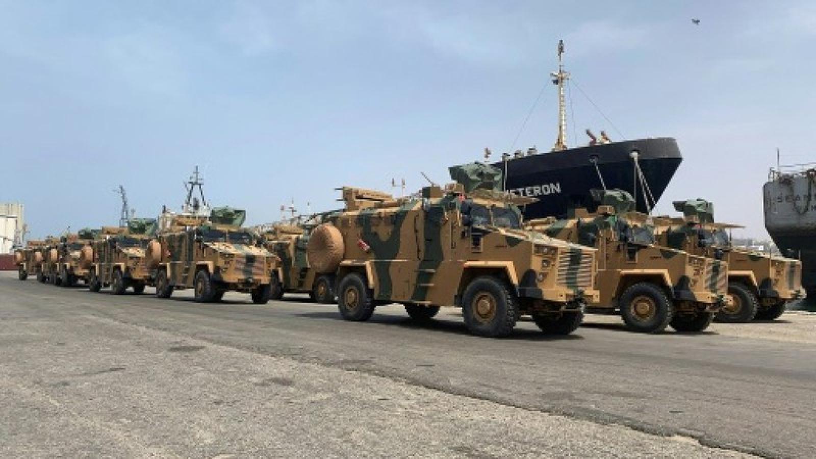 Mỹ: Thổ Nhĩ Kỳ điều hơn 3.000 tay súng Syria sang Libya
