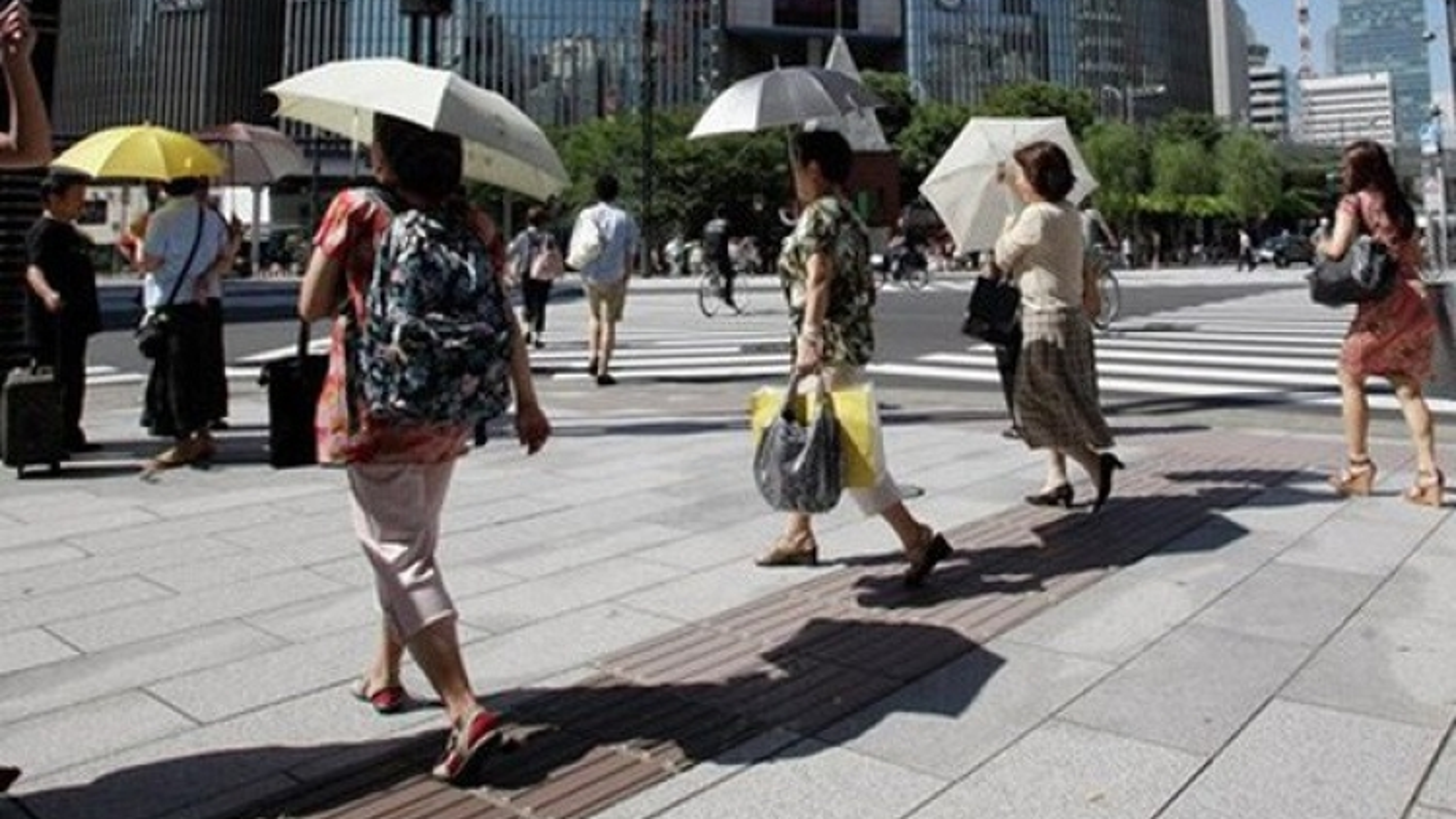Gần 60 người tại Nhật Bản chết do sốc nhiệt
