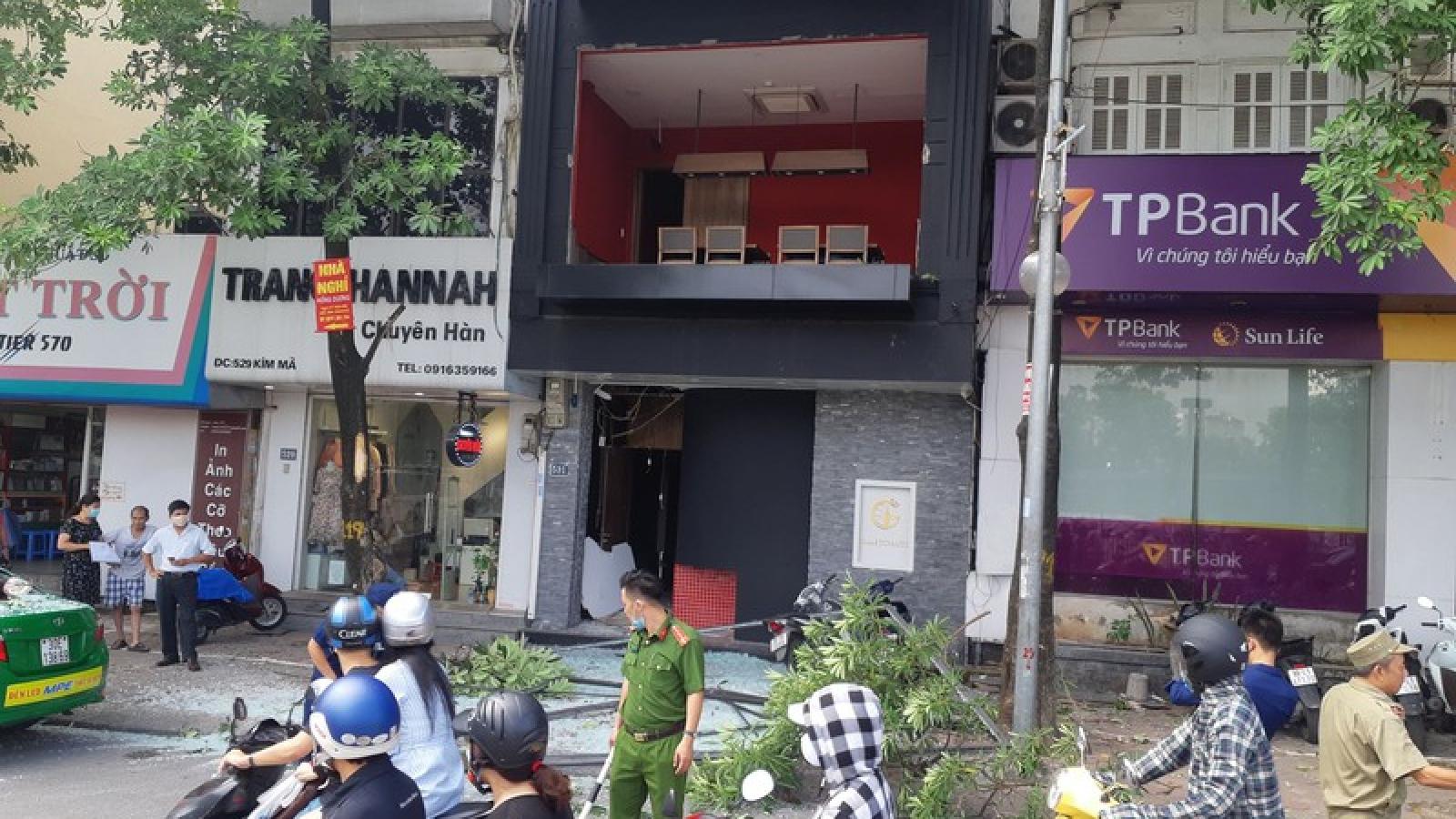 Danh tính 3 nạn nhân bị bỏng sau vụ nổ bình gas ở phố Kim Mã, Hà Nội