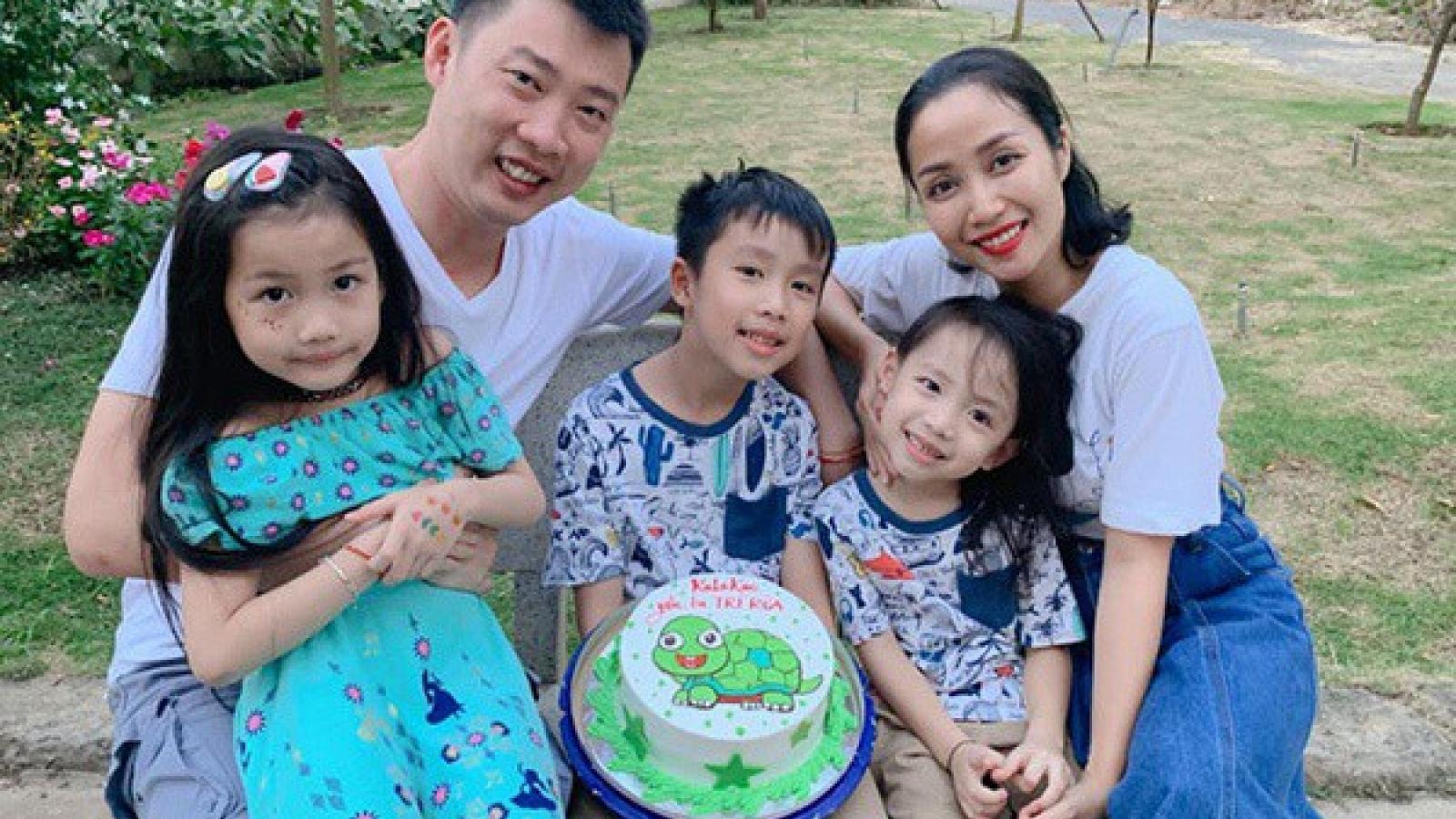 Những em bé 'ngậm thìa vàng' ở showbiz Việt