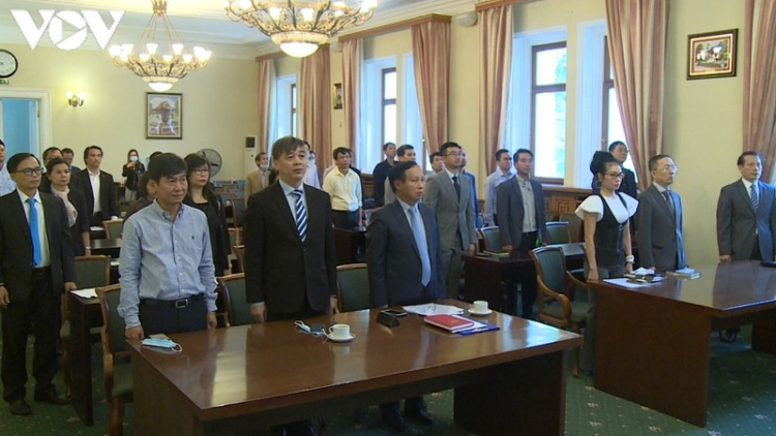 Kỷ niệm 75 năm ngành Ngoại giao Việt Nam tại Liên bang Nga
