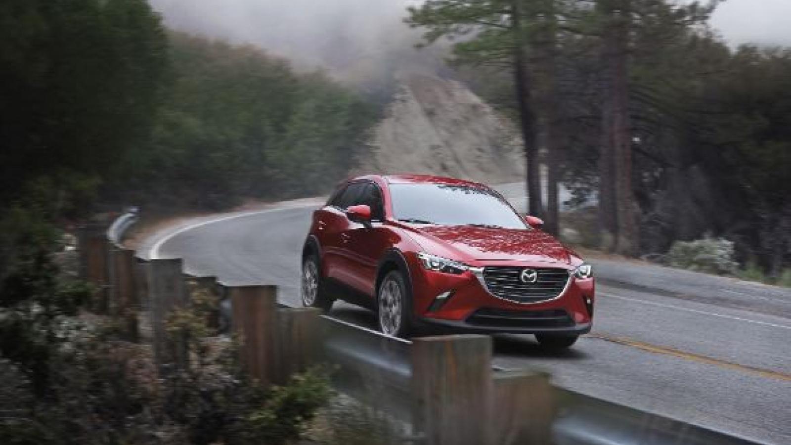 Mazda CX-3 2021 giá từ 20.640 USD sẽ mở bán tháng sau