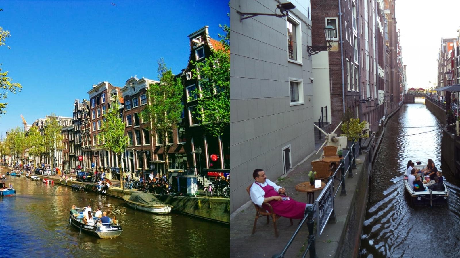 Amsterdam: Điểm đến lý tưởng của những người yêu thích tự do