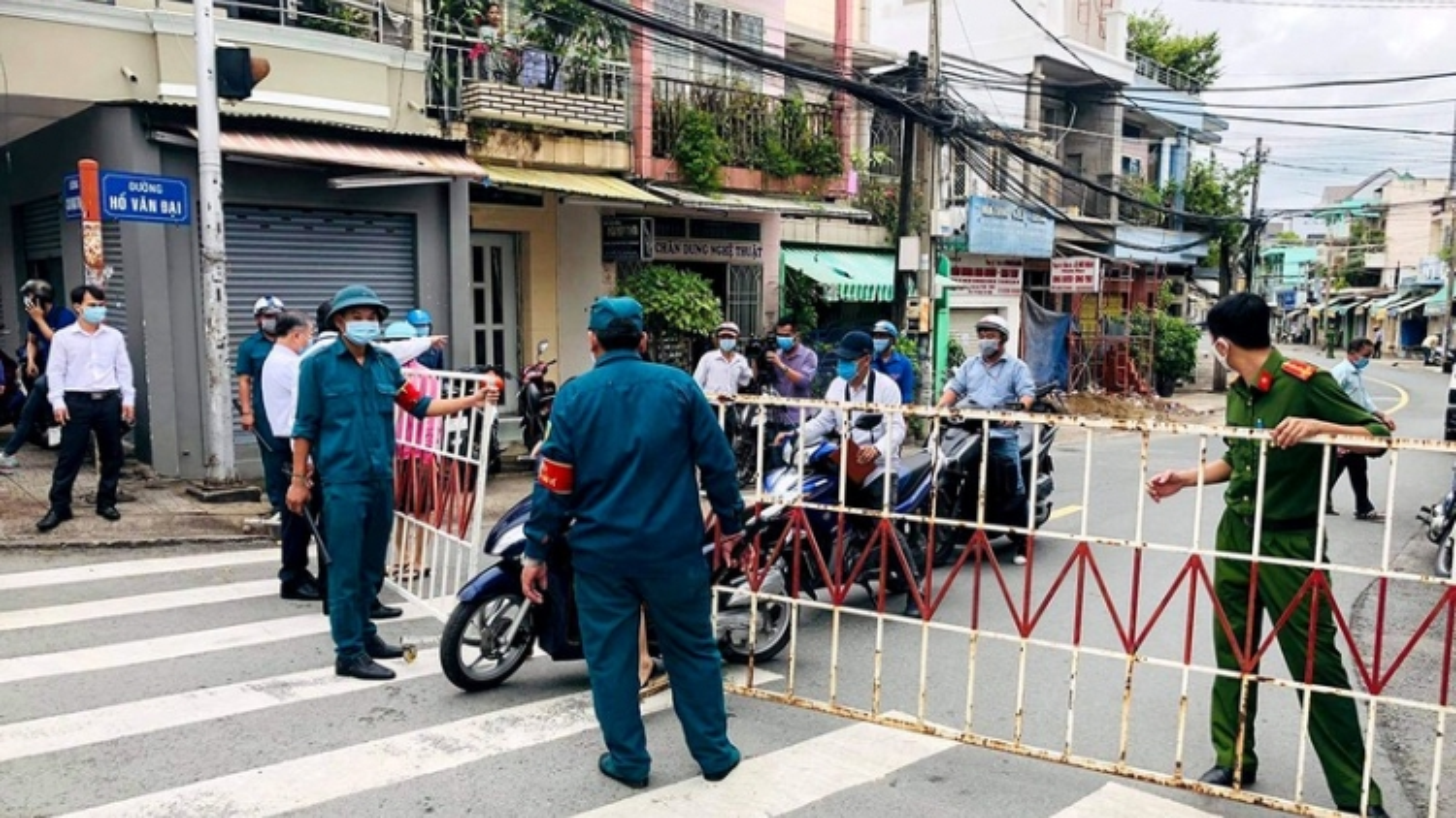 Khu vực ca mắc Covid-19 đầu tiên ở Đồng Nai bị phong tỏa
