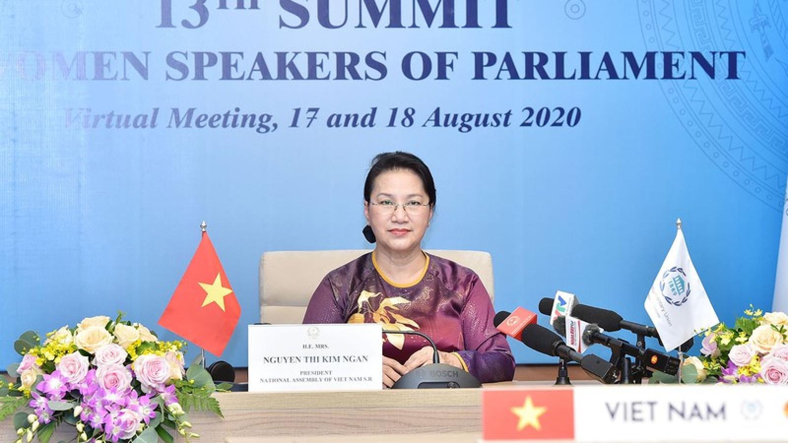 Chủ tịch Quốc hội dự HN thượng đỉnh các nữ Chủ tịch Quốc hội thế giới lần thứ 13