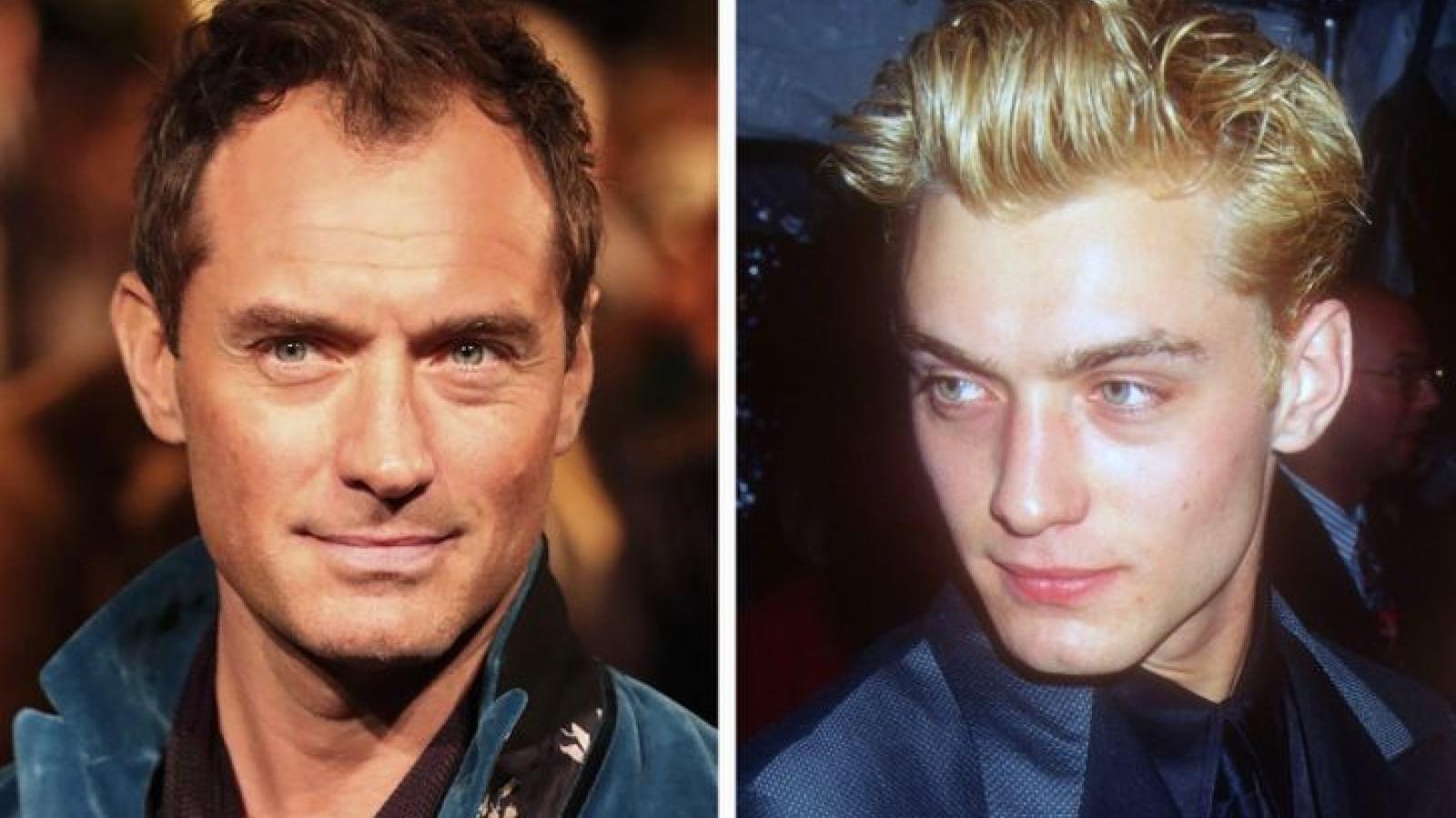 Vẻ điển trai thời trẻ của những nam tài tử đình đám Hollywood