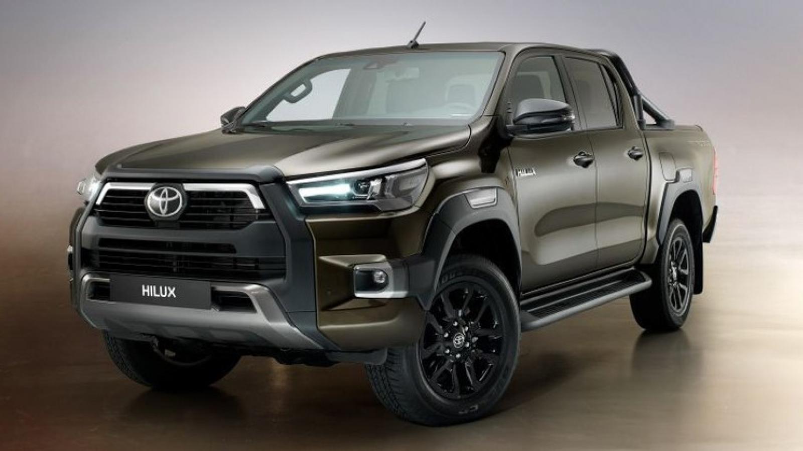 Hình ảnh chi tiết Toyota Hilux phiên bản nâng cấp 2020