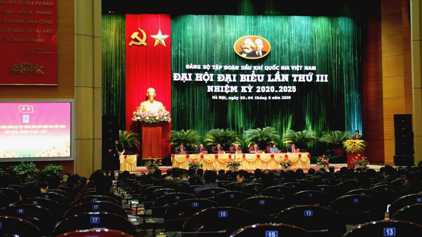 Đại hội đại biểu Đảng bộ PVN nhiệm kỳ 2020-2025 thành công tốt đẹp