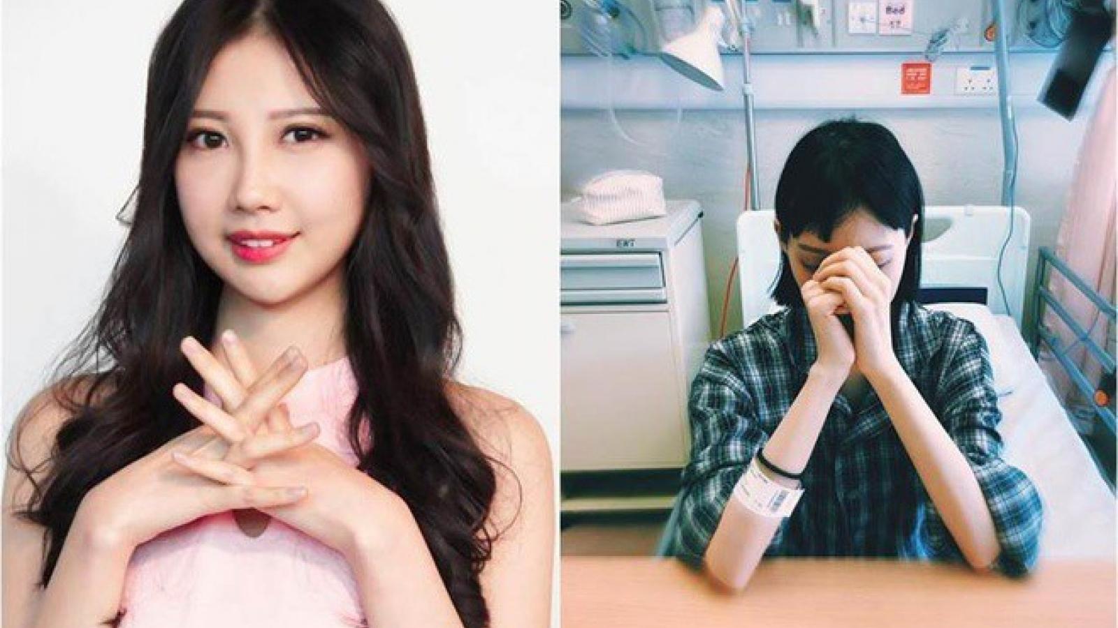 Người đẹp Hong Kong bi quan sau 8 năm chiến đấu với ung thư