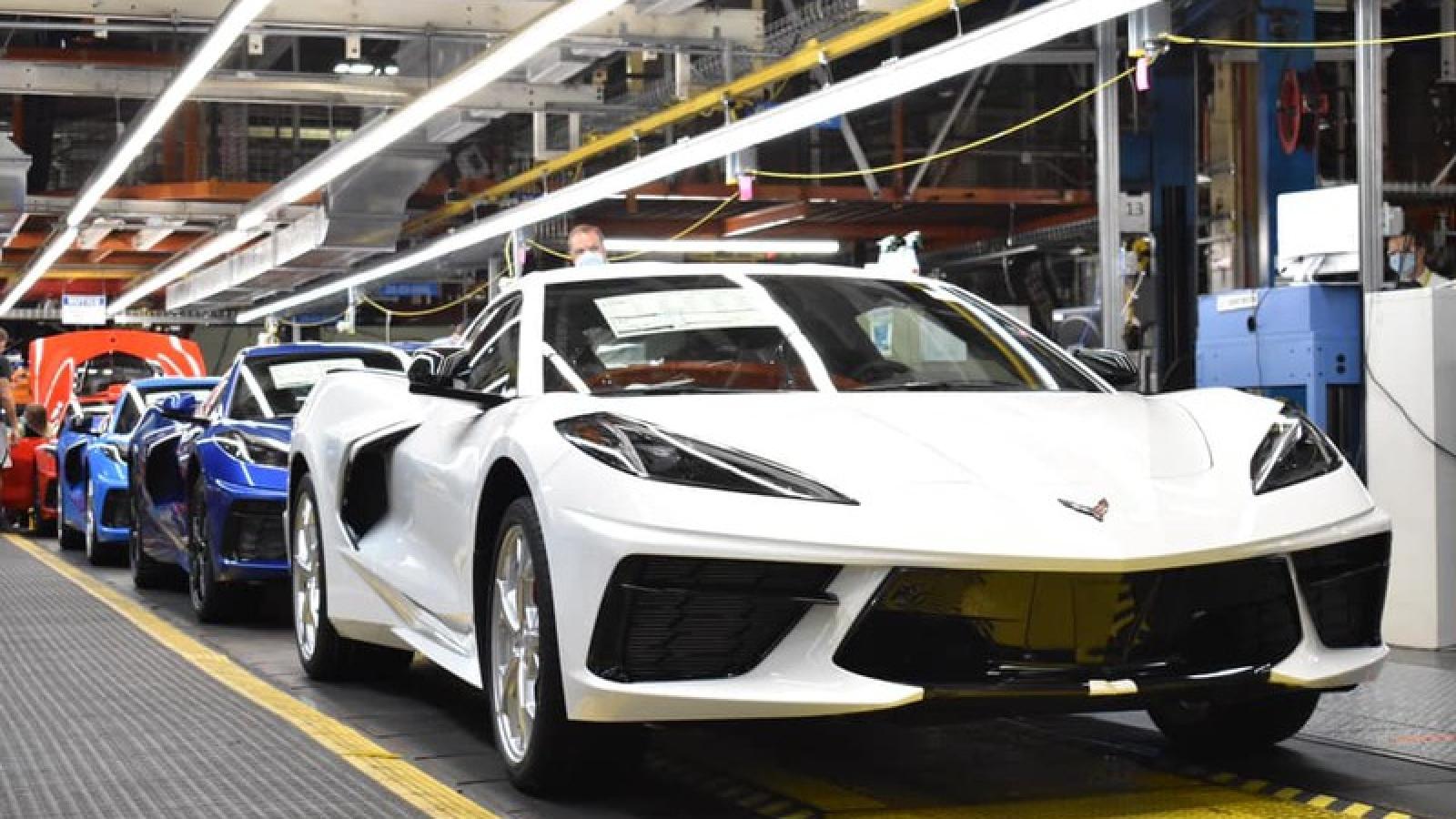 Chiếc Corvette thứ 1,75 triệu xuất xưởng tại Kentucky