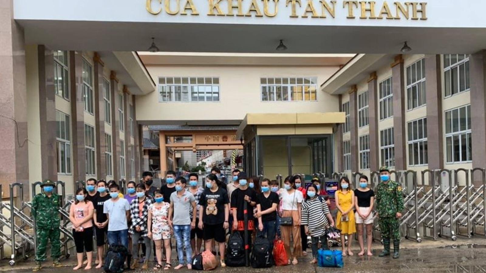 Lạng Sơn phát hiện 25 lao động nhập cảnh trái phép từ Trung Quốc