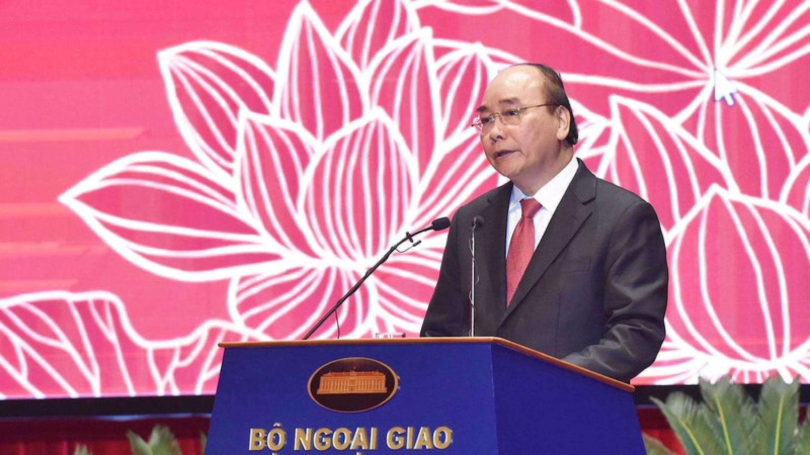 Thủ tướng giao 5 nhiệm vụ lớn cho ngành Ngoại giao
