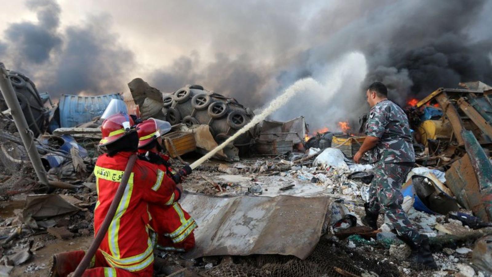 Thúc đẩy công tác bảo hộ công dân Việt Nam sau vụ nổ ở Lebanon