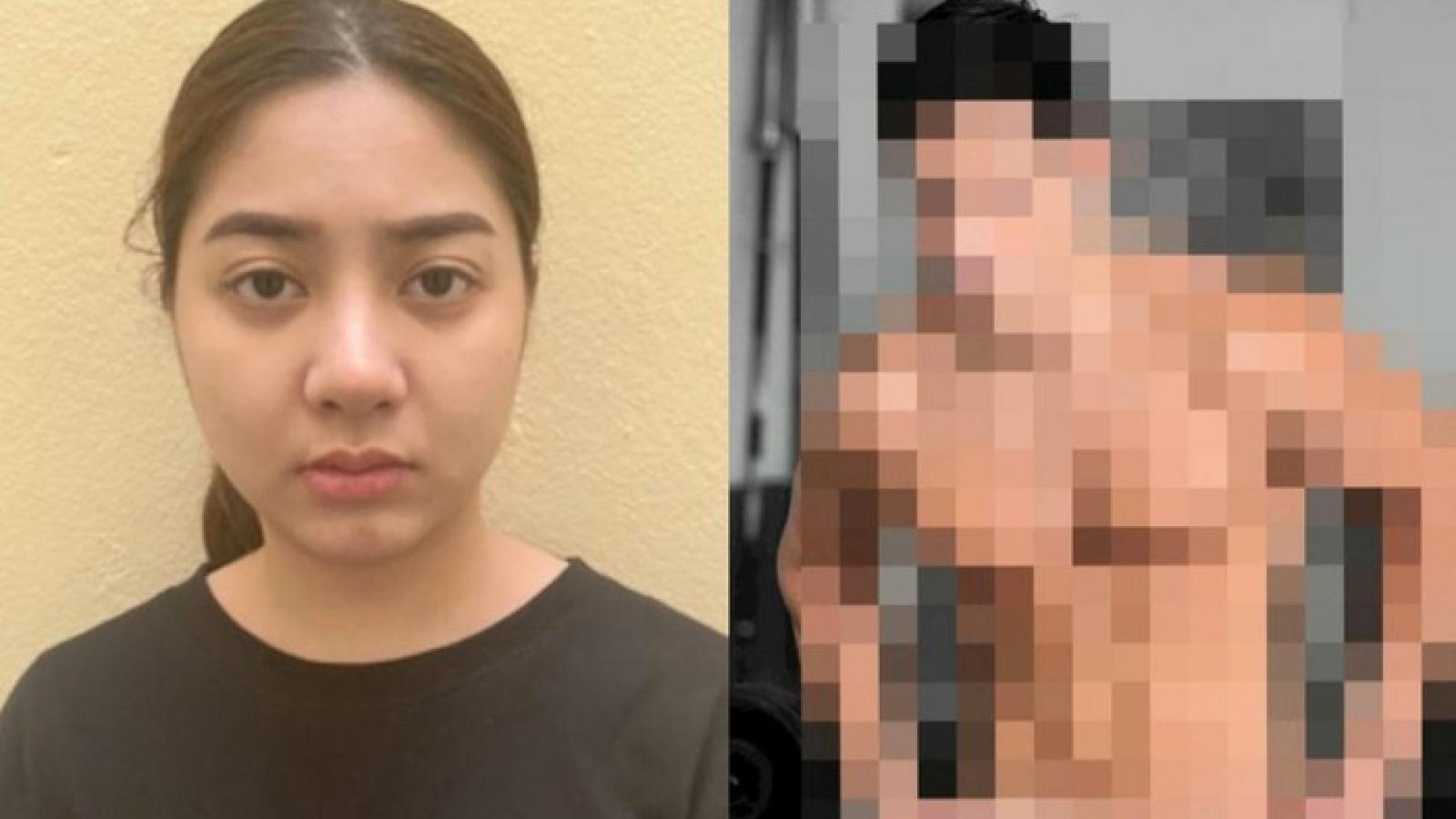 """Khởi tố vụ án, tạm giữ """"tú bà"""" môi giới nam HLV thể hình bán dâm 18 triệu đồng"""