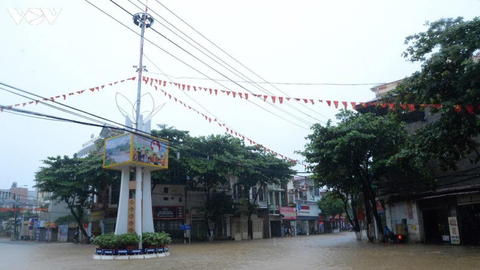 Mưa lũ gây ảnh hưởng trên diện rộng tại Sơn La