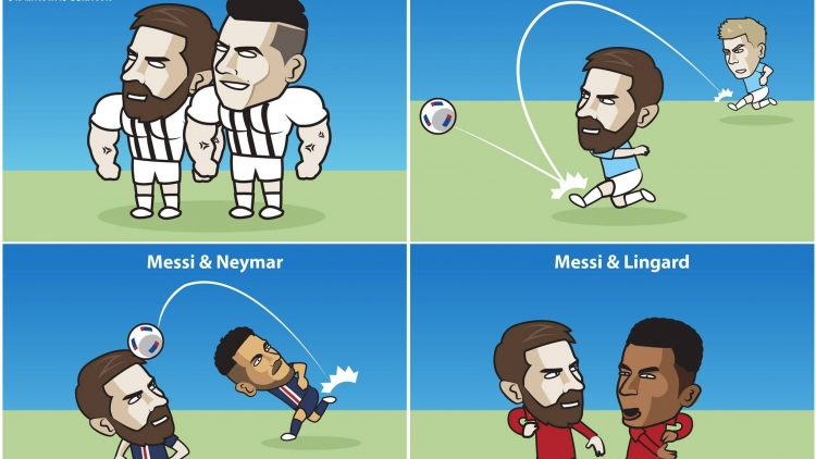 Biếm họa 24h: Đâu sẽ là điểm đến lý tưởng mới của Messi?
