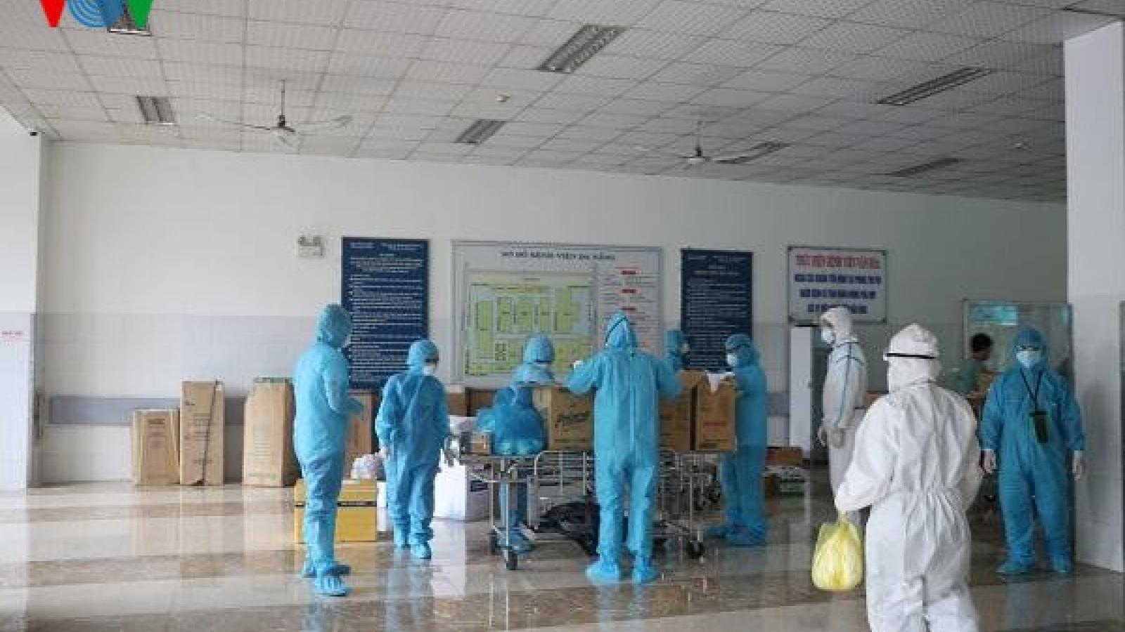Bệnh viện Đà Nẵng cơ bản được làm sạch, không còn bệnh nhân Covid-19