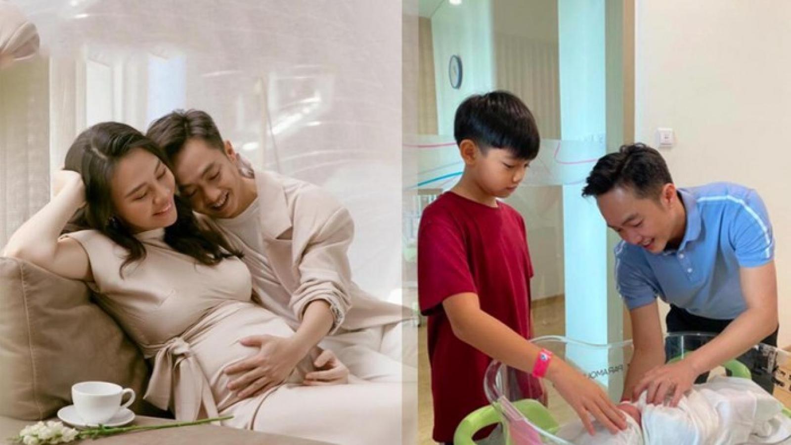 Chuyện showbiz: Vợ Cường Đô la hạ sinh con gái vào sáng nay