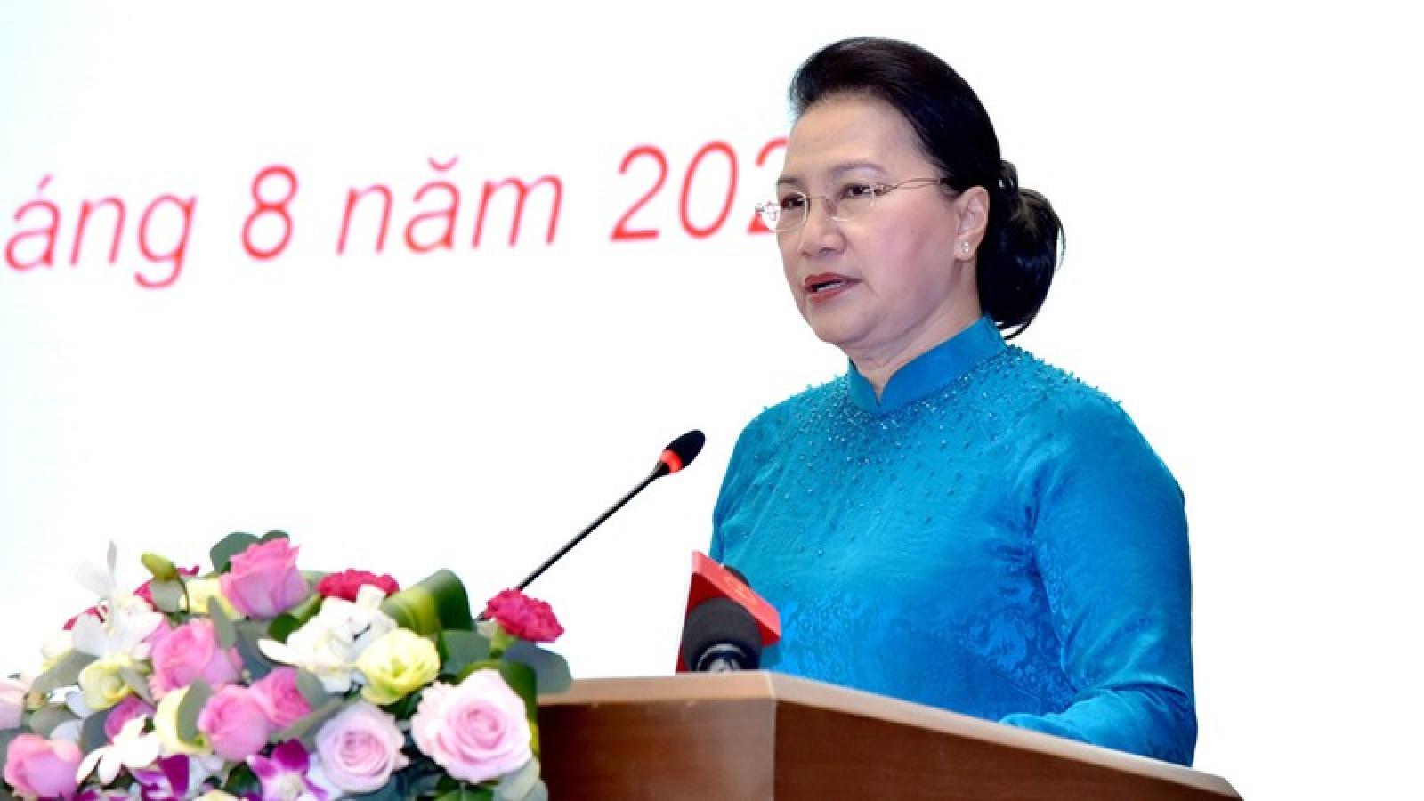 Chủ tịch Quốc hội dự kỷ niệm 75 năm CMT8 và Quốc dân Đại hội Tân Trào