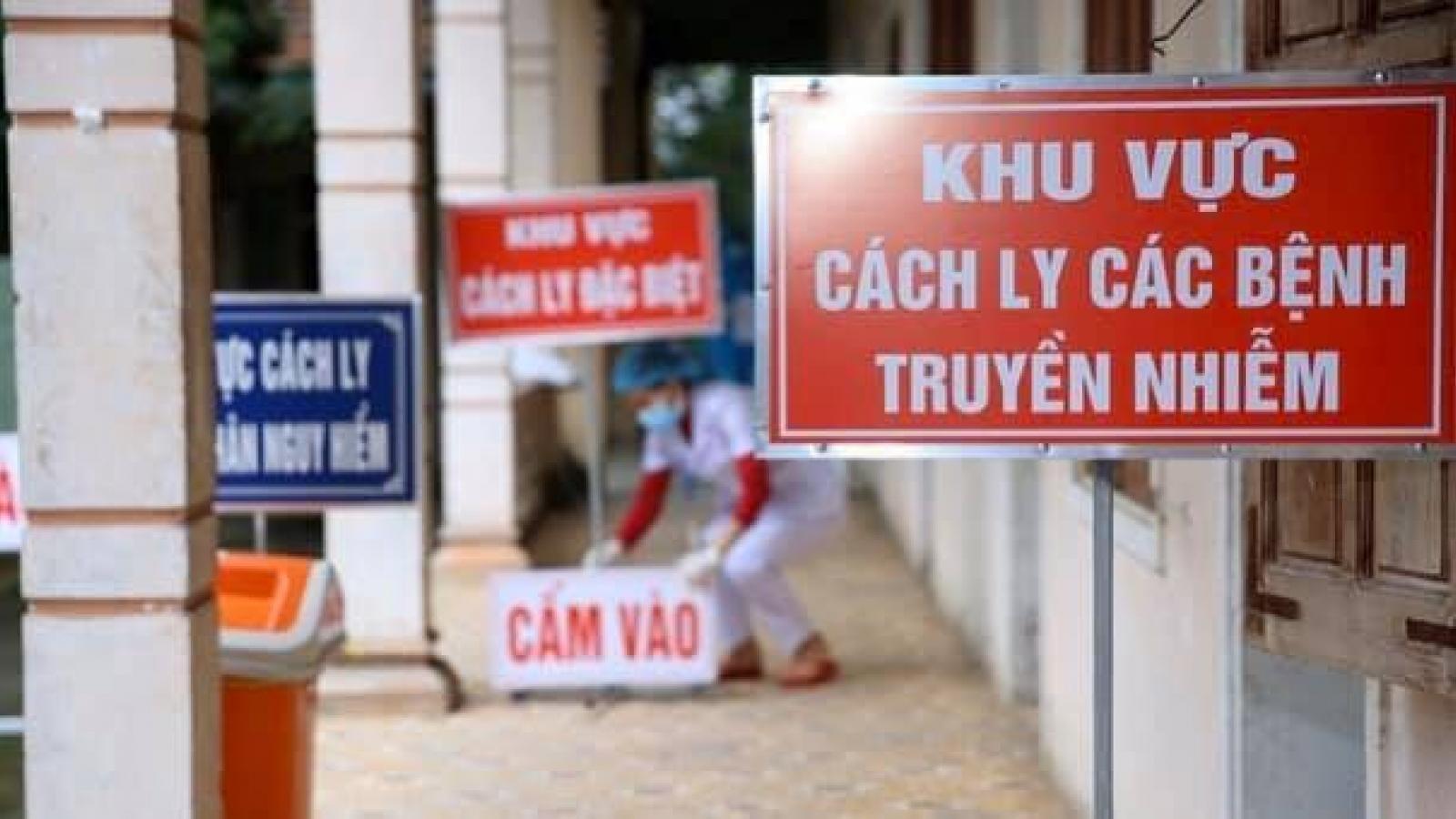 Bệnh viện E khoanh vùng những người tiếp xúc với ca mắc Covid-19 quê Phú Thọ