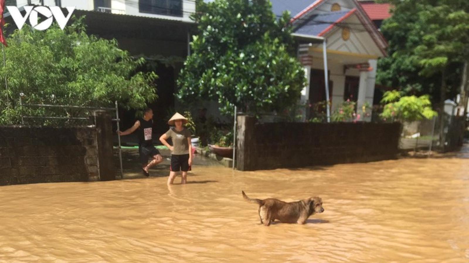 Lục Yên (Yên Bái) nhiều thiệt hại do mưa lớn