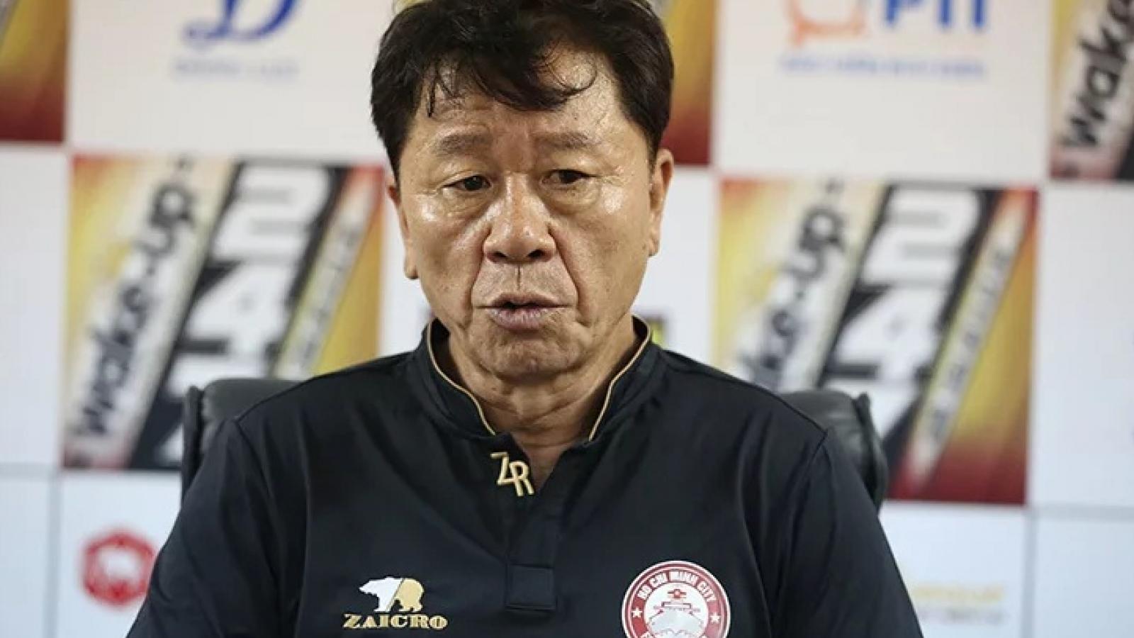 BLV Quang Huy tiếc khi HLV Chung Hae-seong chia tay CLB TPHCM