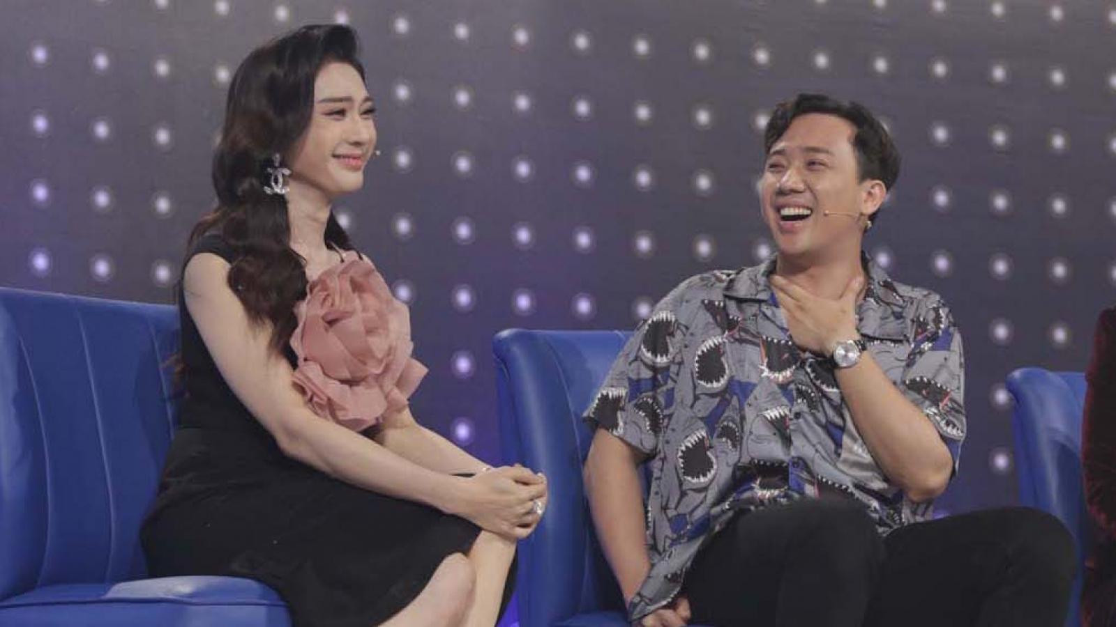 """Lâm Khánh Chi hài hước tự nhận là """"vợ bé"""" Trấn Thành"""