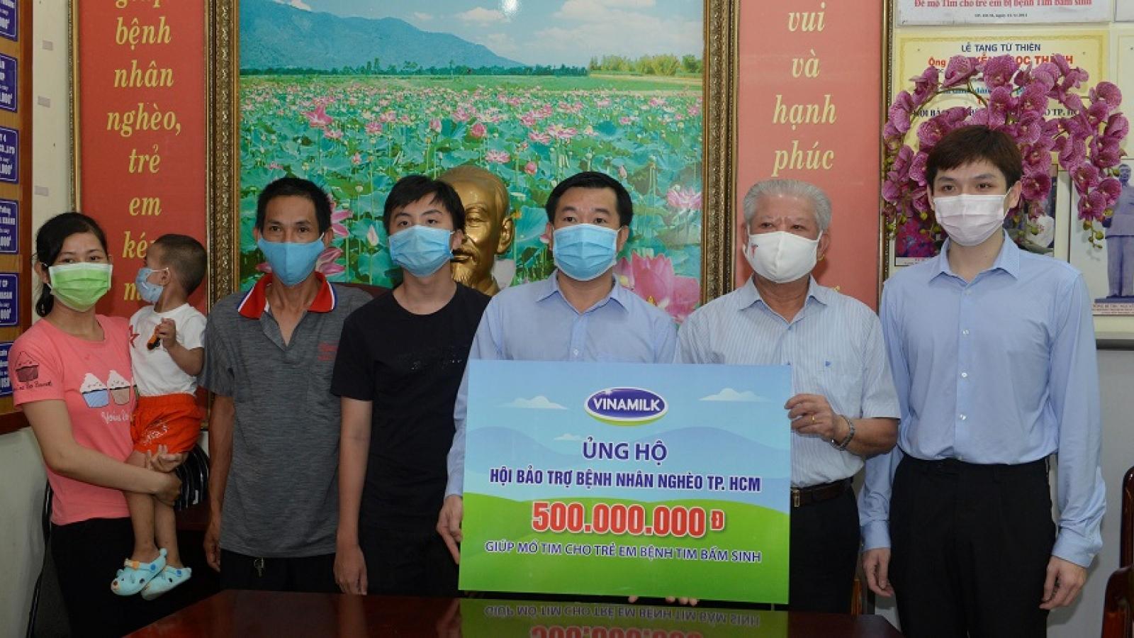 Hàng ngàn trẻ em, bệnh nhân nghèo được Vinamilk hỗ trợ mổ tim miễn phí