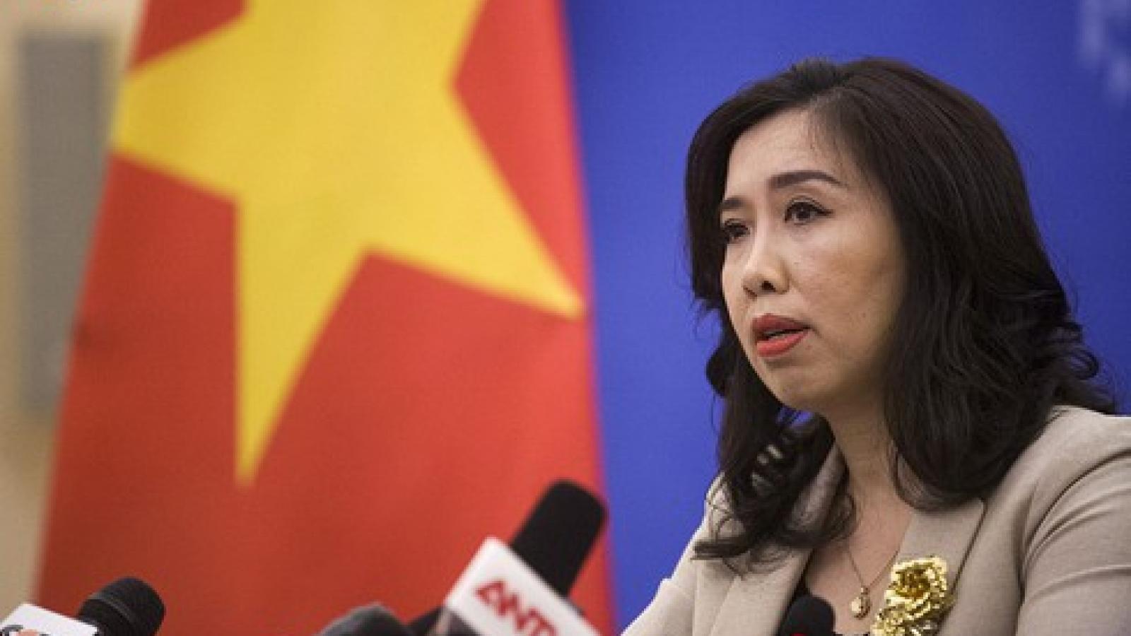 Strong objection to Chinese activities in Hoang Sa and Truong Sa