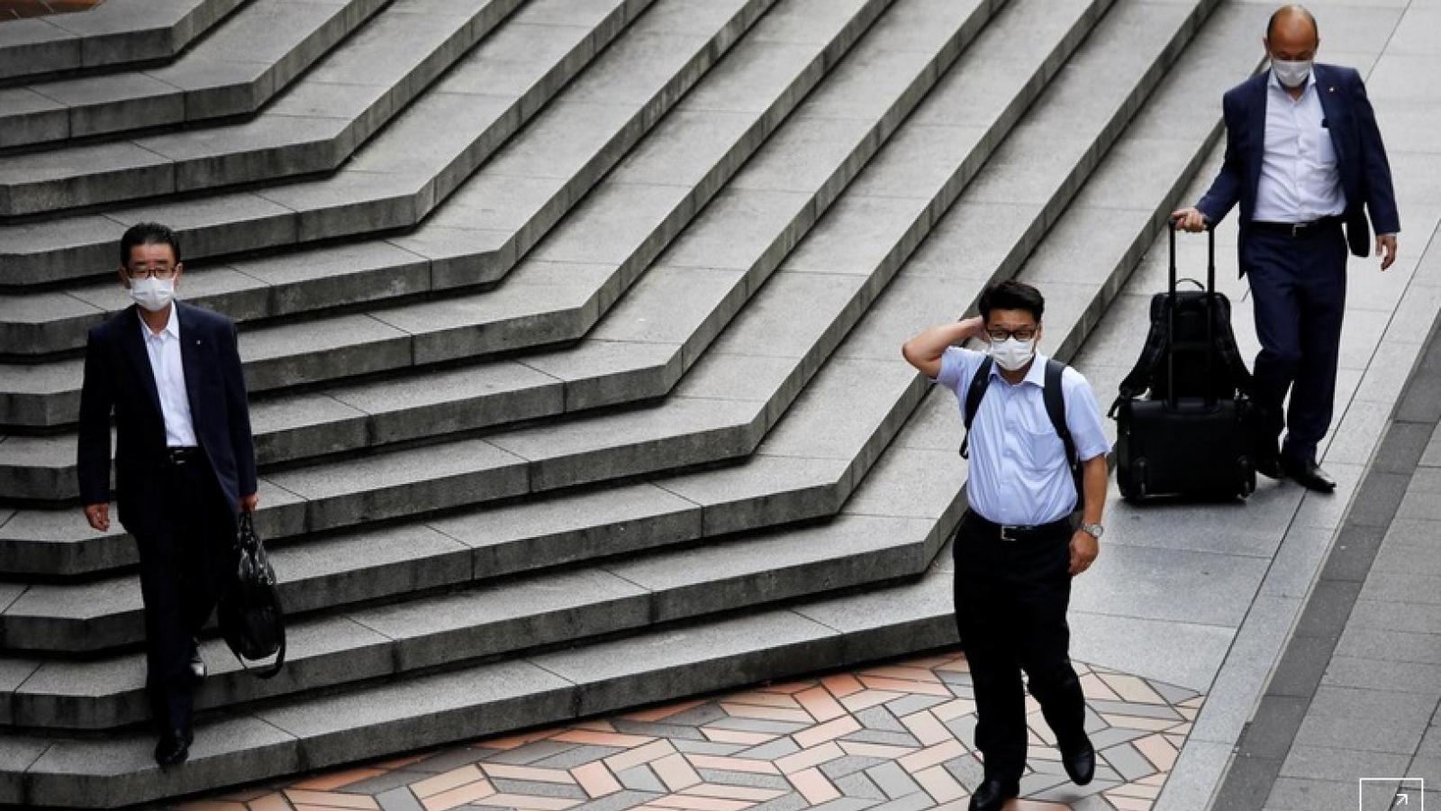 Thủ đô Nhật Bản tăng vọt thêm 472 ca mắc Covid-19 mới trong ngày 1/8