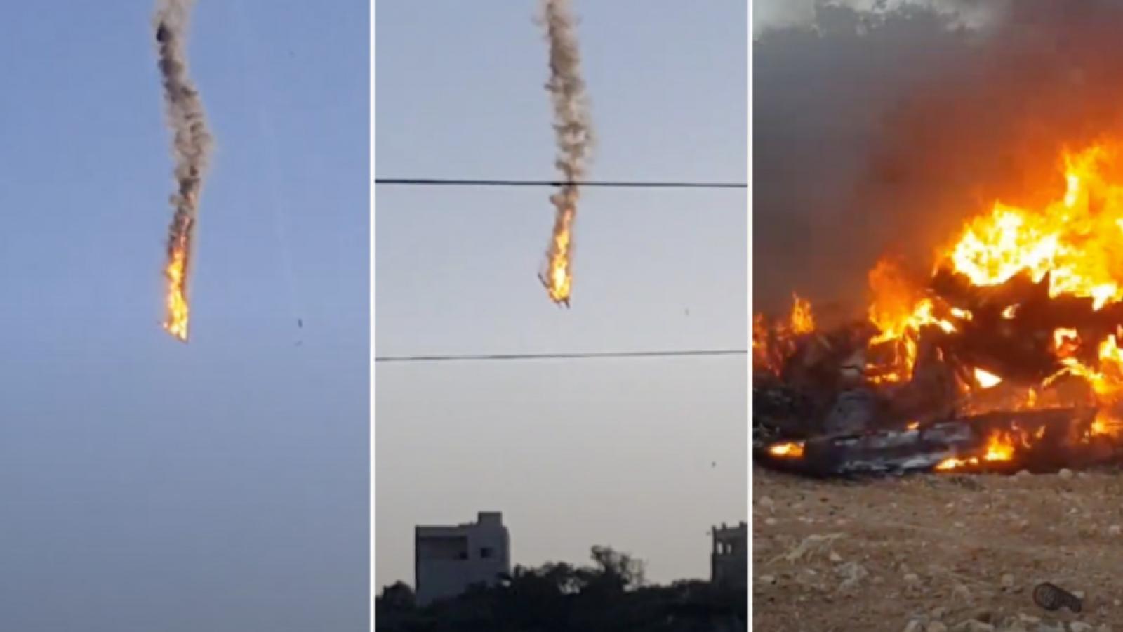 Military Times: Hai UAV Mỹ rơi và bốc cháy ở Syria