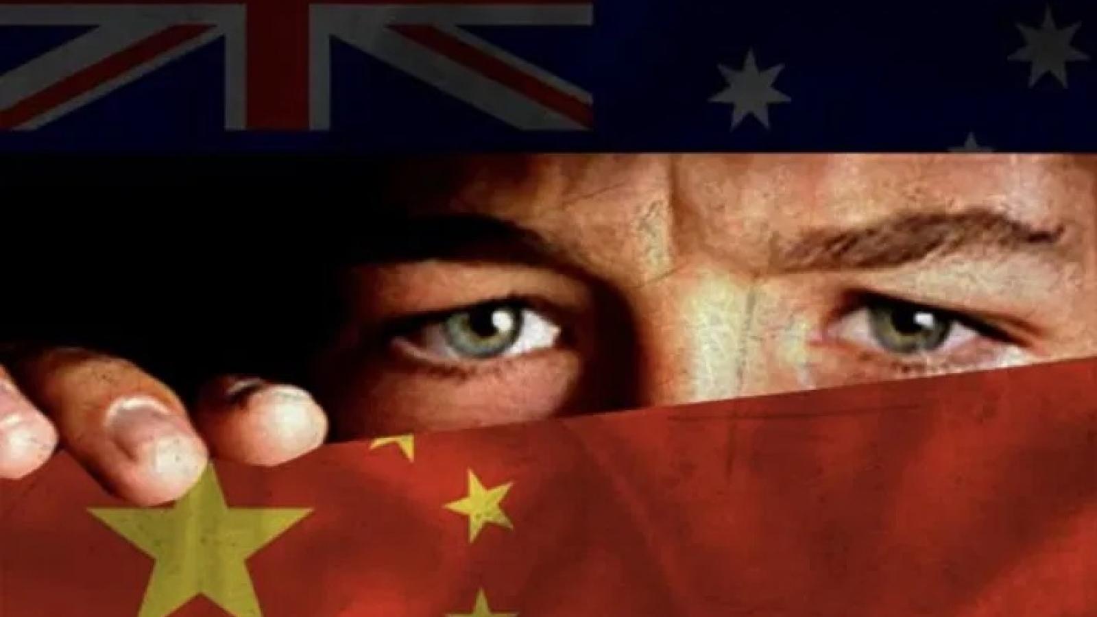 Trung Quốc bị tố theo dõi tình báo đối với hải quân Australia