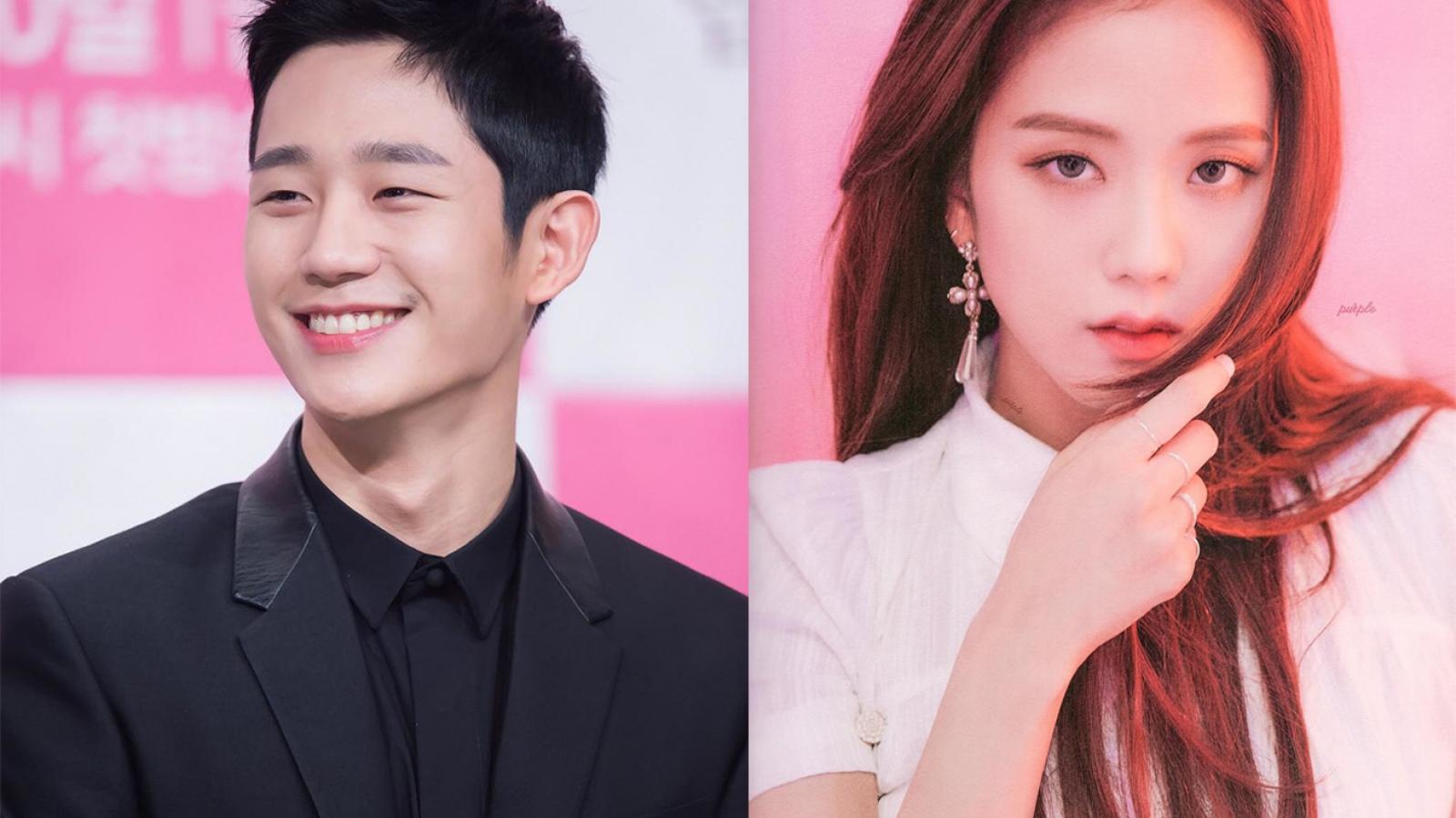 """Jisoo (BLACKPINK) sánh đôi cùng mỹ nam """"Chị đẹp"""" trong phim mới"""