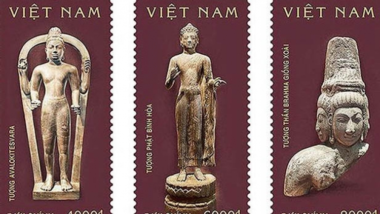 Fresh batch of stamps featuring Oc Eo culture released