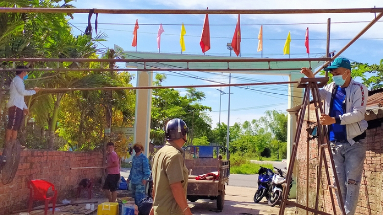Quang Nam lifts social distancing order on Dien Ban town