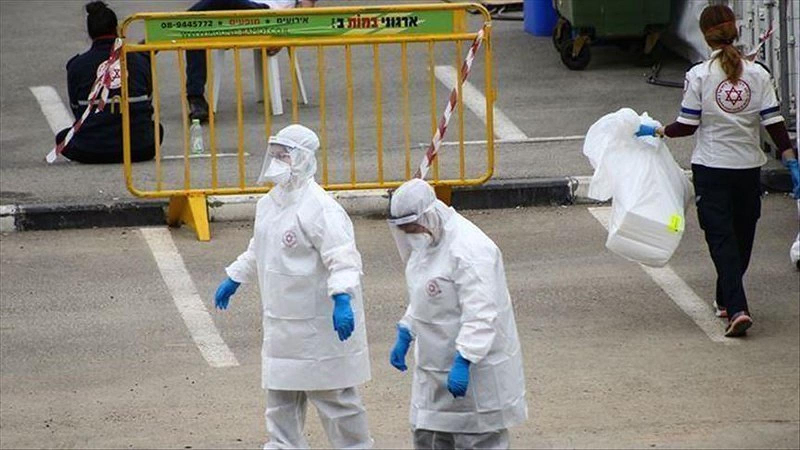 Dải Gaza ghi nhận ca mắc Covid-19 đầu tiên trong cộng đồng