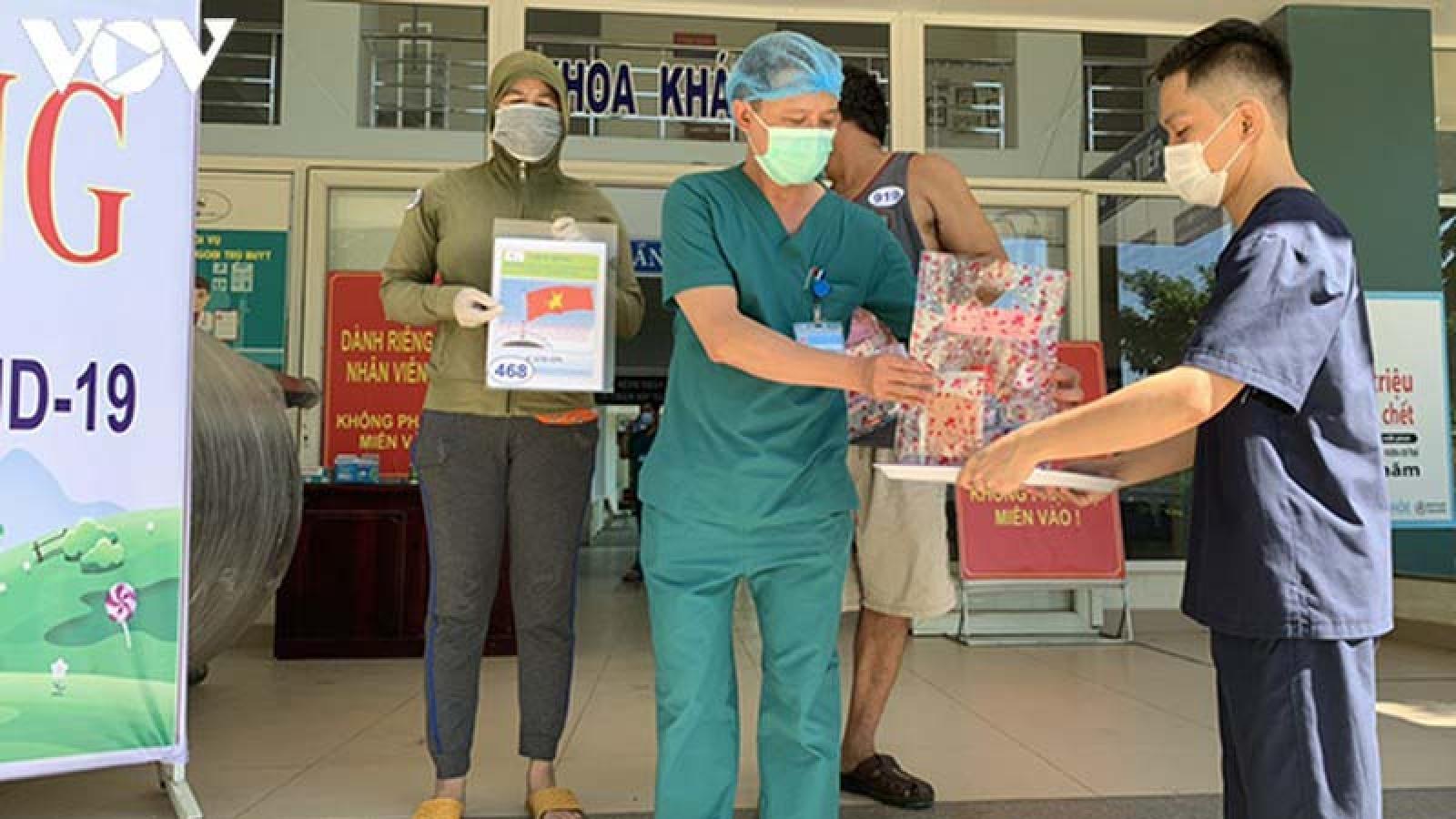 Đà Nẵng có thêm 2 bệnh nhân khỏi Covid 19, được xuất viện