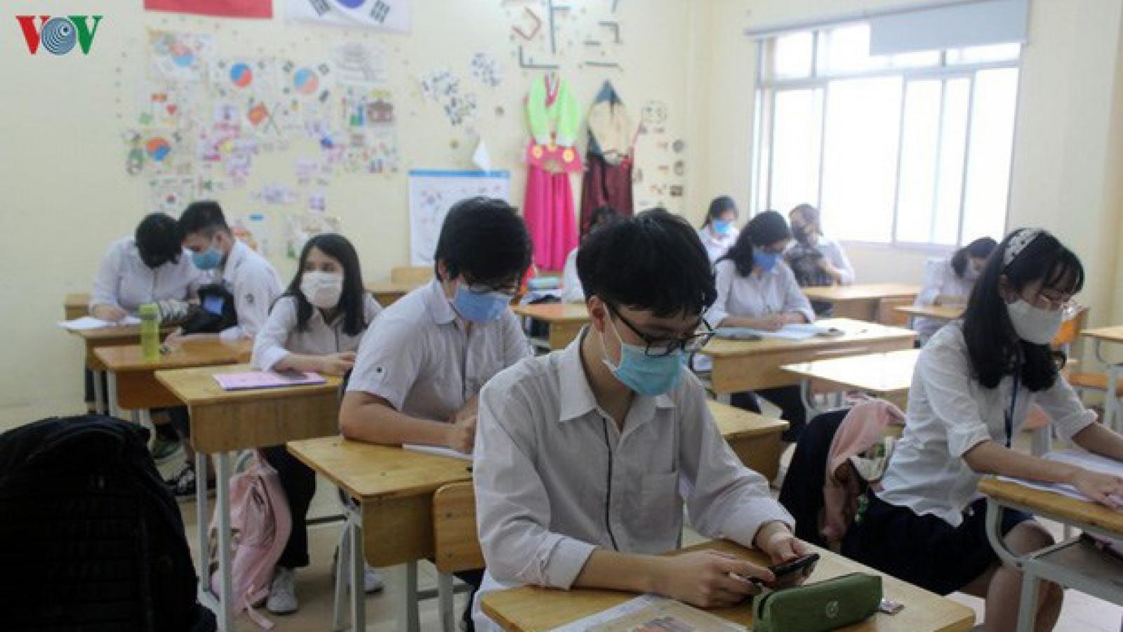 Hà Nội điều động 320 cán bộ, giáo viên làm nhiệm vụ thanh tra coi thi