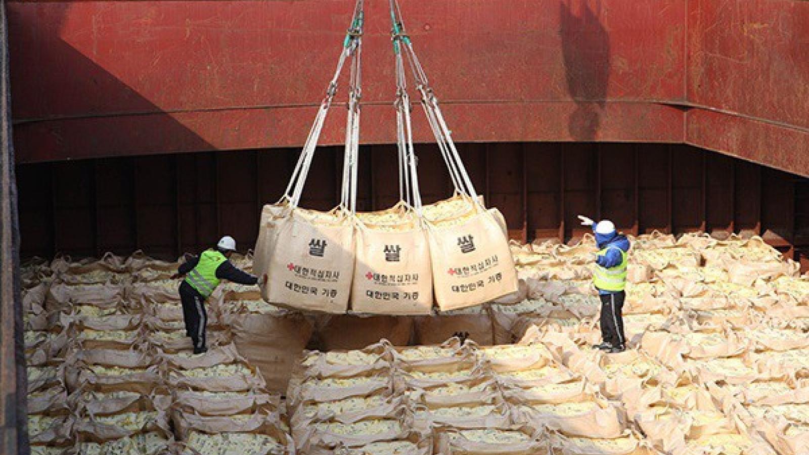 Hàn Quốc lại viện trợ nhân đạo cho Triều Tiên