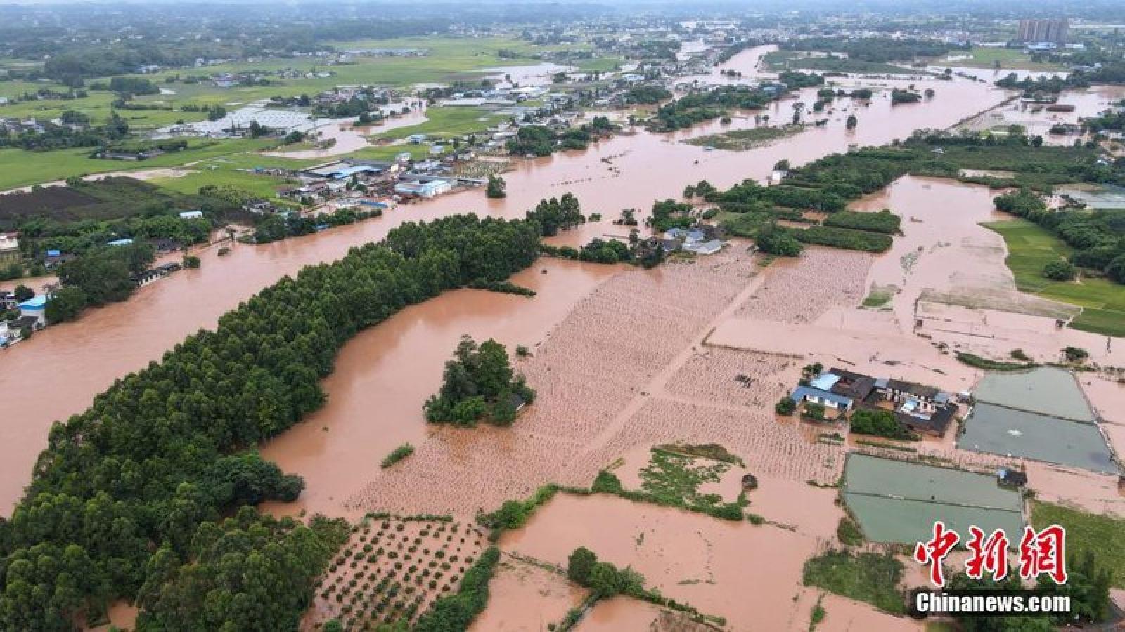 Trung Quốc: 219 người thiệt mạng và mất tích do mưa lũ