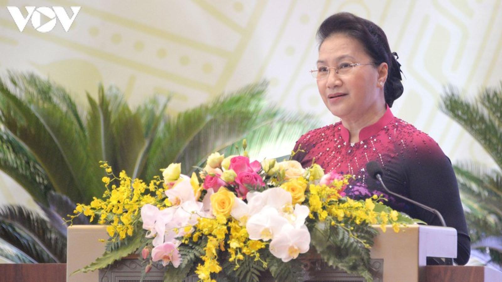 Chủ tịch Quốc hội dự Đại hội lần thứ XIV Đảng bộ Văn phòng Quốc hội