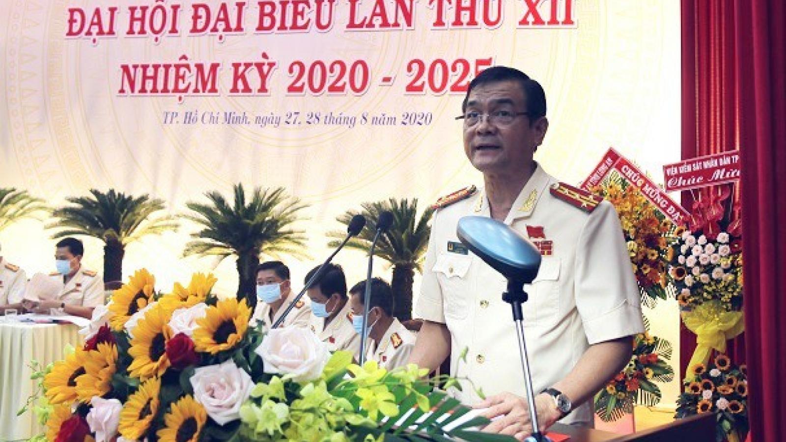 Đại tá Lê Hồng Nam được bầu giữ chức vụ Bí Thư Đảng ủy Công an TPHCM