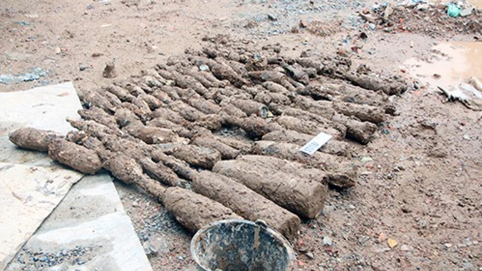 Lào đặt mục tiêu làm sạch bom mìn trên 7.000 hecta đất trong năm nay